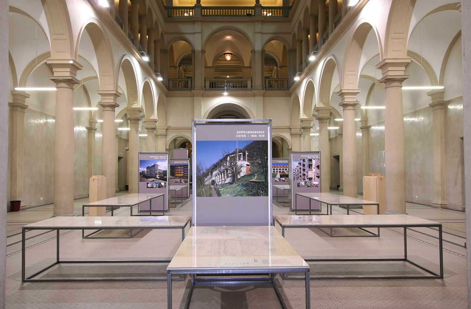 Innenarchitektur Eth Zürich ausstellungen institut gta eth zürich refurnished entwicklung